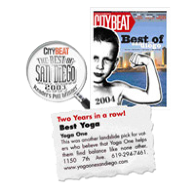 City Beat: Best Yoga, San Diego, 2004