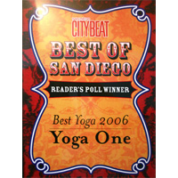City Beat: Best Yoga, San Diego, 2006