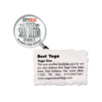 City Beat: Best Yoga, San Diego, 2003