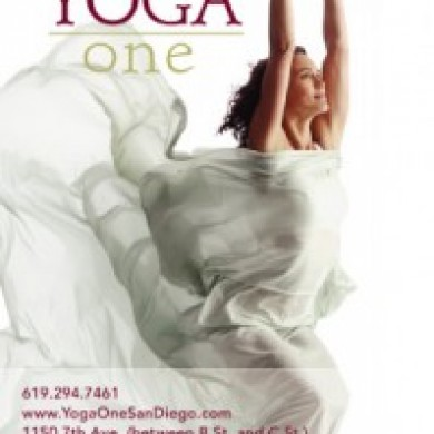 Yoga One Postcards