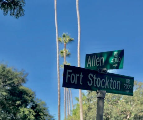 Fort Stockton and Allen